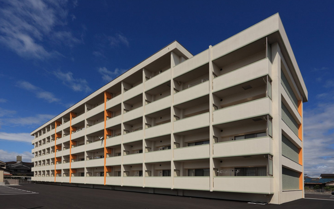 独立行政法人国立病院機構福山医療センター様 職員宿舎